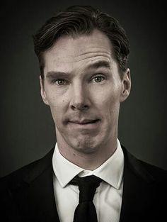 That face! #BenedictCumberbatch