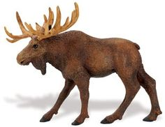 Wild Safari Moose Adult at theBIGzoo.com, a family-owned gift shop with 12,000+ animal-themed items.