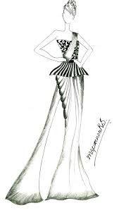 saree gown Illustration Mode, Fashion Illustration Sketches, Fashion Sketchbook, Fashion Sketches, Pastel Fashion, Fashion Art, Gown Drawing, Saree Gown, Dress Sketches