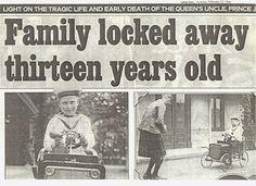 The Lost Prince John of England | che il piccolo John fu presto dimenticato dai Windsor al punto che in ...
