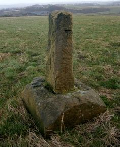 Cubley Cross (Remains) Penistone. Grid Ref: SE 23407 02057 Google Earth 53.514675 -1.648484