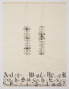 Lesley Dill, 'Her Eyes,' 2013, Tamarind Institute