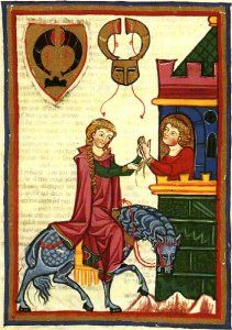 gardecorps An example from the Maciejowski bible, a french manuscript from the middle of the 13th century