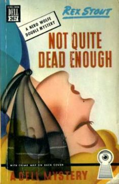 Dell Books 464 - A Nero Wolfe mystery by Rex Stout. Cover art: Gerald Gregg