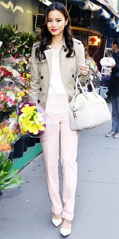 Look of the Day - April 7, 2014 - Jamie Chung from #InStyle