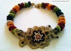 Ορειβατικό με λουλούδι δαντέλας κεντημένο με πέρλες Internet, Bracelets, Jewelry, Fashion, Moda, Jewlery, Jewerly, Fashion Styles, Schmuck