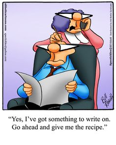 Spectickles: Yes, I've got something to write on. Go ahead and give me the recipe .