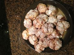 Hogwa's Moist Marble cookies 1 box Duncan Hines fudge marble cake mix 2 eggs 1/3 cup of vegetable oil 1tsp vanilla extract  Mix it all together until soft dough forms. Make 1 inch balls and roll in powdered sugar. Place on cookie sheets and bake at 375 for 6-9 minutes. Cookies will be lightly browned on bottom and soft on top. Sprinkle with more powdered sugar if desired.
