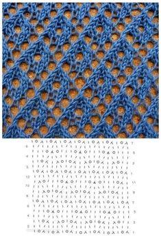 Lace Knitting Stitches, Crochet Stitches Patterns, Knitting Charts, Lace Patterns, Loom Knitting, Knitting Designs, Stitch Patterns, Tattoo Dentelle, Google Translate