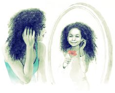 A Poetic tribute to curly hair #LoveYourCurls #ad