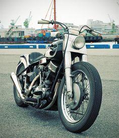 1957 Harley Panhead Custom - SWEET!