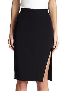 Altuzarra Faun Pencil Skirt - Black - Size