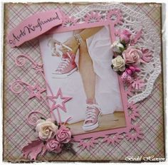 Bodil Hansen Box Photo, Scrapbook Cards, Scrapbooking, Confirmation Cards, Die Cut Cards, Mothers Day Cards, Diy Cards, Wedding Cards, Cardmaking