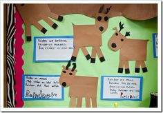 KWL reindeer- then write facts learned after reading nonfiction book