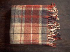 orange and grey. Tartan Plaid, Plaid Scarf, Cozy Corner, Lounge, Blanket, Bedroom, Trending Outfits, Grey, Handmade Gifts