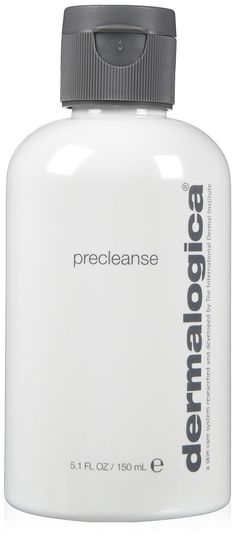 Dermalogica Precleanse Oil. Helps remove makeup before you wash your face. Recommend for all skin types.