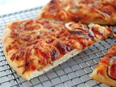 No-Knead Thin-Crust Pizza: it doesn't get any easier than this. - Flourish - King Arthur Flour