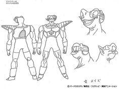Dragon Ball - Model Sheet 037   Dragon Ball Art Concepts Mod…   Flickr