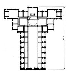 Leon battista alberti san andr s de mantua planta for Arquitectura quattrocento y cinquecento
