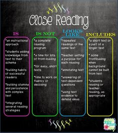 The Classroom Key: Taking the Rocket Science out of Close Reading