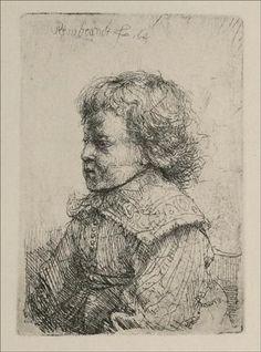 Portrait of a Boy - Rembrandt  - Completion Date: 1641