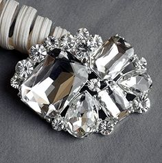 Rhinestone Brooch Pin Embellishment Crystal Bridal Wedding Brooch Bouquet Hair Comb Shoe Clip Cake Decoration BR092 Your Perfect Gifts