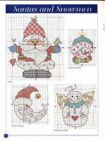 Gallery.ru / Фото #9 - 101 Christmas Designs Book - Chispitas