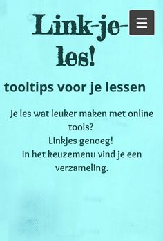 Je les wat leuker maken met onlinetools? Linkjes genoeg! Handig! Computational Thinking, Teaching Skills, 21st Century Skills, School Items, Blended Learning, Internet, Social Skills, Teaching English, Classroom Management
