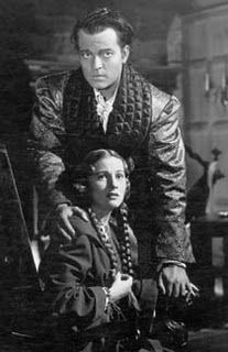 Joan Fontaine and Orson Welles in Jane Eyre
