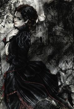 Victorian Gothic girl ( Get your goth on with gothic punk clothing - a favorite…