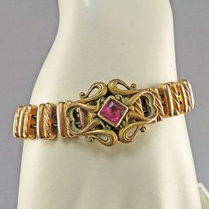 Antique Gold Filled Bracelet Expandable Bracelet Statement Bracelet Antique Bangle Edwardian Jewelry Antique Jewellery As Is