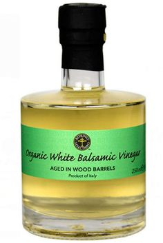 Ritrovo Selection Sofia Private Label Organic White Balsamic Vinegar aged in wood barrel from Italy. This organic italian balsamic vinegar is perfect for your salad dressing recipe. #vinegar #balsamicvinegar #italian #organicvinegar #saladdressing #cooking #saladrecipes #gourmetgiftideas #housewarmingiftideas #giftformom Balsamic Vinegar Of Modena, White Balsamic Vinegar, White Vinegar, Gourmet Gifts, Gourmet Recipes, Organic Vinegar, Natural Spice, Perfume Bottles, Italian Spices