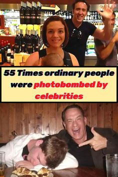 Everyone loves a good #photobomb. Whether you're the one doing the bombing or the one being bombed, the results are always hilarious and memorable. But these kinds of photos are even funnier when #celebrities join in on the action. Over the years, everyone from Michael Cera to Arnold #Schwarzenegger has joined in on the photobombing fun, busting into #snaps of their celebrity friends and random fans alike. Here are 55 of the very best examples. Michael Cera, Dark And Twisted, Unbelievable Facts, Viral Trend, Wtf Fun Facts, Mehandi Designs, Arnold Schwarzenegger, Twisted Humor, New Pins