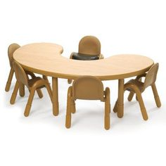"""Save $58.48 on 14"""" Tall Kidney Shaped Baseline Table (Shamrock Green) (14""""H x 38""""W x 65""""D); only $311.47"""
