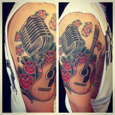 Excellent guitar tattoo! Great guitar tattoo. For more guitar articles, visit www.guitarjar.co.uk