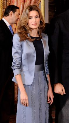Queen Letizia of Spain Photos - Princess Letizia of Spain attends the annual Foreign Ambassadors Reception, at The Royal Palace on January 14, 2010 in Madrid, Spain. - Spanish Royals Host Ambassadors Reception in Madrid