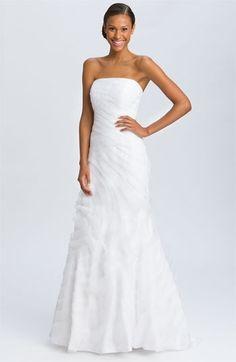 Jovani Tiered Organza Strapless Gown | Nordstrom - StyleSays