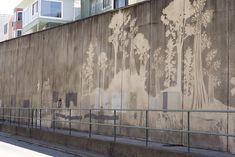 Moose Benjamin Curtis; Reverse Graffiti