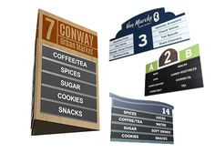 Hanging Retail Aisle Signs and Markers