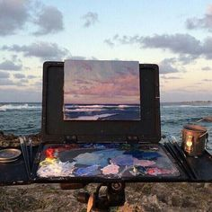 Imagem de art, sea, and painting