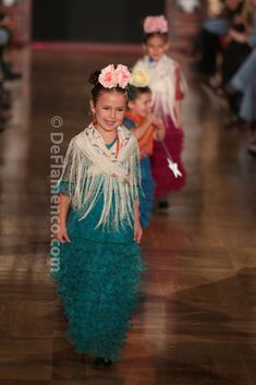 Fotografías Moda Flamenca - We Love Flamenco 2014 - Rocío Peralta- desfile infantil - Foto 01
