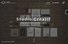 Studio Premier Regard - Website of the Day - 22 February 2015 http://www.csswinner.com/details/studio-premier-regard/8742