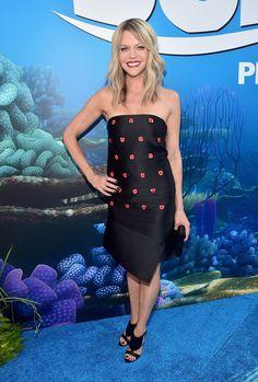 Kaitlin Olson | Stars made a fashion splash at the Finding Dory Premiere | [ https://style.disney.com/entertainment/2016/06/09/fashion-at-the-finding-dory-premiere/#ellen-degeneres ]