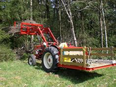 Tractor Attachments Canada - The World's Best Universal Utility Carryall!