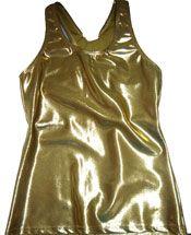 USA-9030GD GOLD Metallic Sports Bra Tank Top Cheerleading Hair Bows, Cheerleading Uniforms, Cheer Bows, Custom Bows, Running Costumes, Running Tanks, Awareness Ribbons, Bra, Metallic Gold