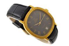 Omega De Ville Cal.1012 Date Gold Plated Automatic Midsize Watch SKU: 919