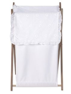 Baby and Kids Clothes Laundry Hamper for White Eyelet Bedding Set by Sweet Jojo Designs:Amazon:Baby