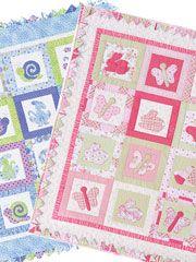 Scrap Baby Quilt Downloads - Lads & Lassies Quilt Pattern