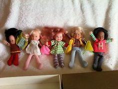 Honey Hill Bunch dolls by Mattel