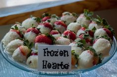 Frozen Birthday Party- Frozen Hearts | Home is Where the Mouse is Fourth Birthday, 5th Birthday Party Ideas, Frozen Themed Birthday Party, Disney Frozen Birthday, Birthday Fun, Birthday Celebration, Chocolate Blanco, Chocolate Dipped, White Chocolate